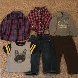Designer Boys 12 Month Bundle Primigi, DKNY, Gap